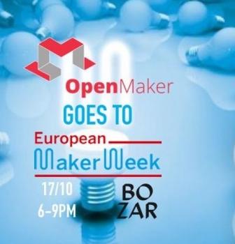 Nuestro proyecto 3DLAN.org en la European Maker Week en Bruselas