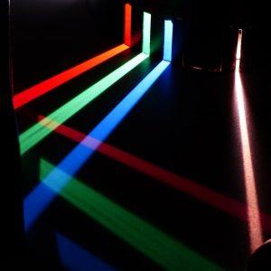 experimento de luces