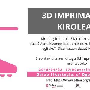 3D inprimaketak