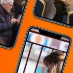 móviles y personas