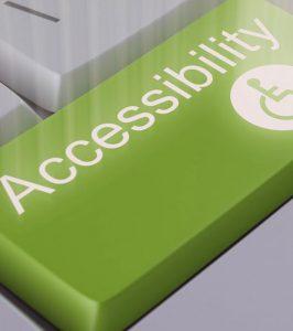 tecla con palabra Accesibilidad