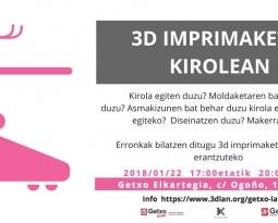 3D inprimaketa kirolaren eta ongizatearen eremuan